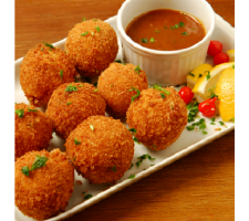 Mini Cheese Balls 25g - Fried & Frozen  per kg