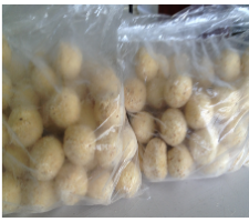 Cheese Balls 30g - Frozen pack of 1kg