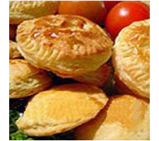 Chicken Pie (Empada) 60g - Baked  per kg