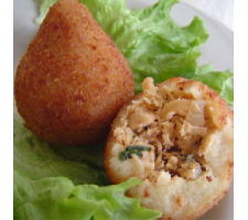 Large Coxinhas 80g - Fried pack  per kg