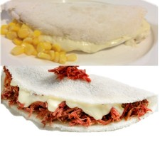 Tapioca Mix Catupiry Beef and Corn Cheese